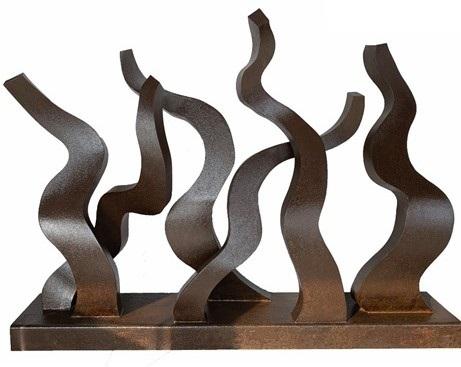 """Escultura hierro """"Amanecer"""""""